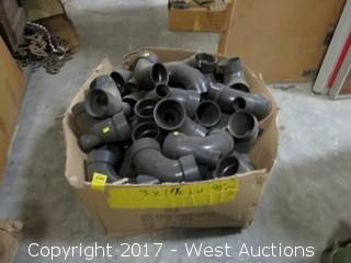 Box of Elbow Pipe Connectors