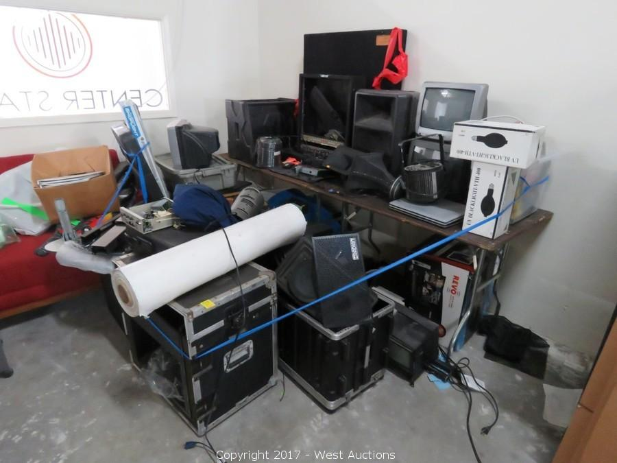 Auction #2: Surplus Audio/Video and Staging