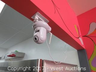 Foscam Wireless Security Camera, Ceiling Mounted