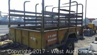 U.S. Army Off-Road Trailer