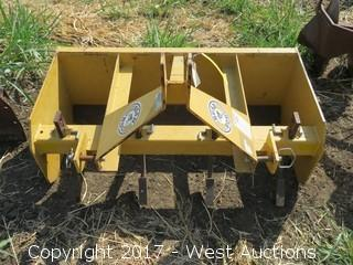 Bush Hog 4' 3 Point Box Scrapper