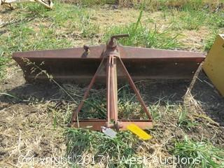 Bush Hog 6' 3 Point 1113 Angle Blade