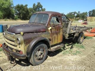 1940's Dodge Flatbed Pickup Truck
