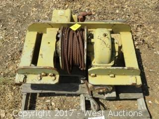 Tulsa Hydraulic Chain Driven Heavy Duty Winch