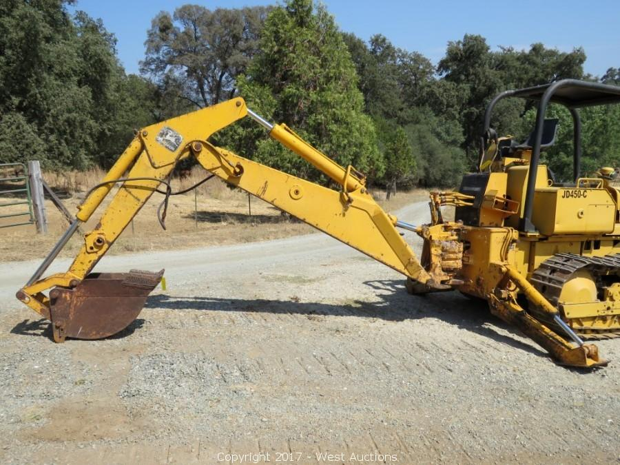 John Deere Backhoe Attachment >> West Auctions Auction Complete Farm Liquidation Item John Deere