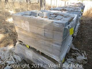 "Pallet of  Pavers 5-1/2"" x 5-1/2 x 2-1/2"""