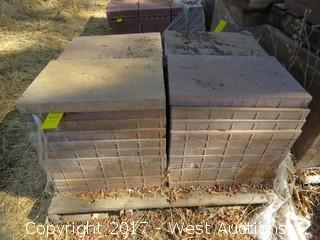 "Pallet of 23-1/2 ""x 15-1/2"" x 2"" Pavers"