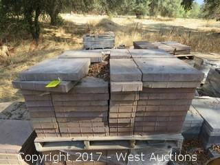 "Pallet of 15-1/2"" x 15-1/2"" x 2"" Pavers and 15-1/2"" x 7-1/2"" Pavers"