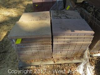 "Pallet of 23-1/2""x15-1/2""x2"" Pavers"