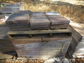"Pallet of Pavers 15-1/2 x 15-1/2"" x 2"""