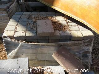 "Pallet of 5-1/2"" x 5-1/2"" x 2"" Pavers"