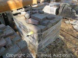 "Pallet of 8"" x 5-1/2"" x 2"" Pavers"