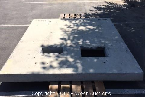 Concrete Material and Steel Covers