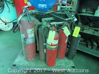 (6) Fire Extinguishers
