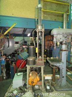 Breeze Corp Hydraulic Press