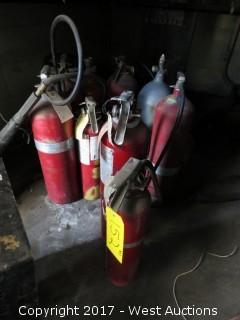 (10) Fire Extinguishers