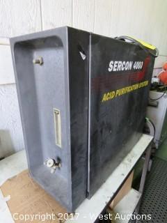 Sercon 4000 Acid Purification System