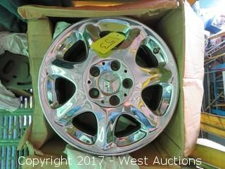 (4) Mercedes Benz Wheels 16.5x8.25