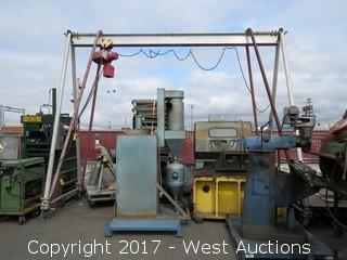 A-Frame Chain Hoist - Bridge Unit