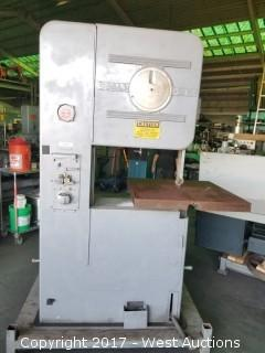 DoAll 26 Industrial Bandsaw