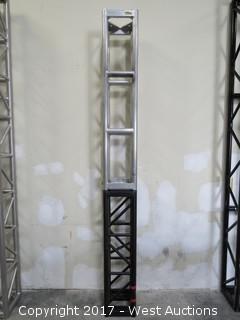 """(2) Aluminum Truss (5'x12""""x12"""") (4'x12""""x12"""")"""