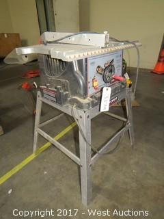 "Task Force BT2500W 10"" Bench Table Saw"