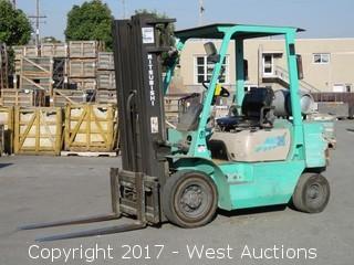 Mitsubishi 5000 LB Capacity Propane Forklift