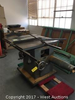 J.A.Fay & Egan 511B Table Saw