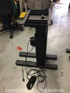 DeWert Motorized Desk Platform