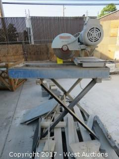 Target Tile Saw with Stand