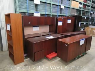 (9) Executive Wooden Office Furniture Units