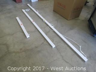 (22) Selux 277 Volt LED L36 Series Hanging Light Strips