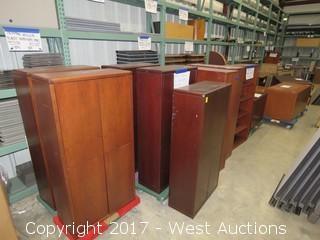 (12) Executive Wood Furniture Units