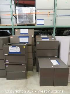 (10) Steel File Cabinets