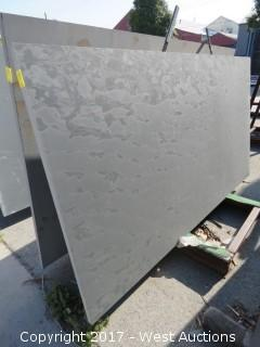 "(1)  Brazil Grey Honed 86""x47""x3cm Slab"