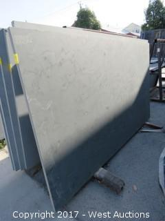 "(1)  Brazil Grey Honed 88""x51""x3cm Slab"