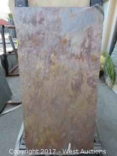 "(1)  Indian Raja Natural 54""x28""x2cm Slab"