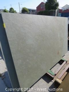 "(1)  Brazil Green Natural 60""x51""x3cm Slab"