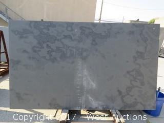 "(1) Brazil Black Honed 88""x52""x3cm Slab"