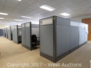 (10) Complete Haworth Premese Cubicle Office Units
