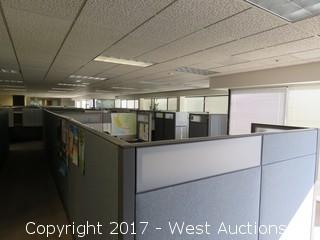 (3.5) Complete Cubicle Office Units