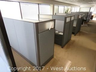 (5.5) Complete Cubicle Office Units