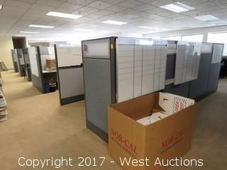 (9.5) Complete Cubicle Office Units