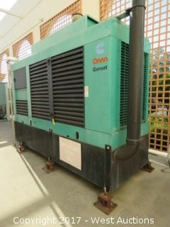 Onan Genset  350DFCC Cummins Powered 535HP Backup Generator With Transfer Switch