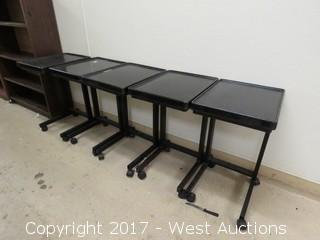 (5) Beverage and Snack Carts / Tables