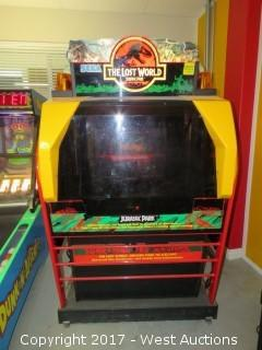 SEGA Jurassic Park The Lost World Arcade Machine