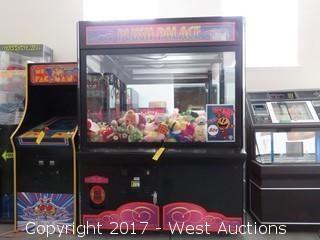 The Plush Palace Arcade Claw Machine