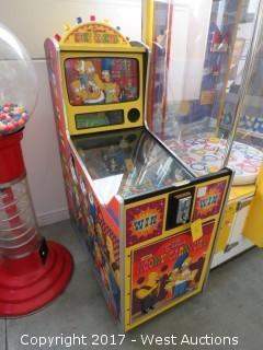 The Simpsons Kooky Carnival Arcade Machine