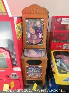 Omar the Mystic Fortune Telling Arcade Machine