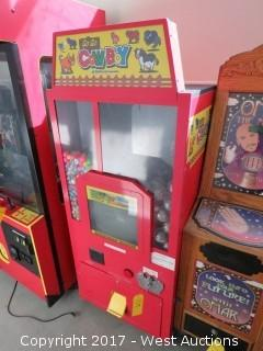Sammy USA Co. Go Go Cowboy Arcade Machine